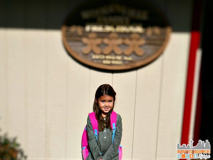 First Day Preschool - Back to School Moments with the new Panasonic Lumix G7 #ad