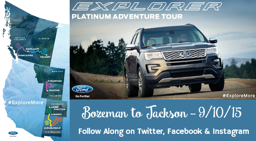 Ford Explorer Platinum Adventure Tour 2015 #ExploreMore ad