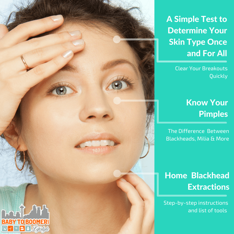 Know Your Pimples, Clear Acne Breakouts Quickly, and the proper technique for Blackhead Extraction at home
