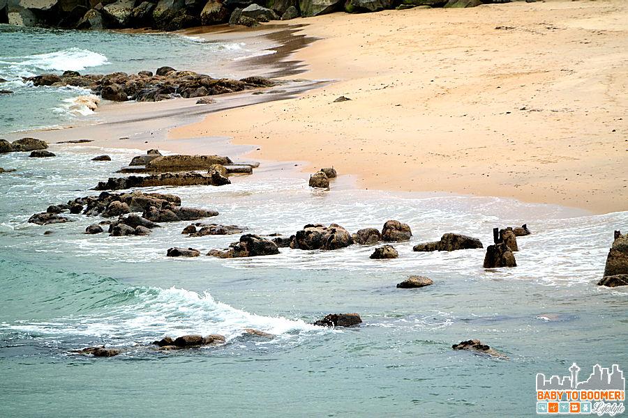 Monterey Bay Inn - rocky shore