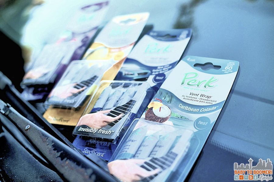 PERK Vent Wrap: Discreet Air Freshening For Your Car #PERKFRESH #ad