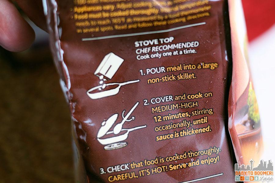 PF Changs Home Menu - Garlic Chicken Cooking Directions