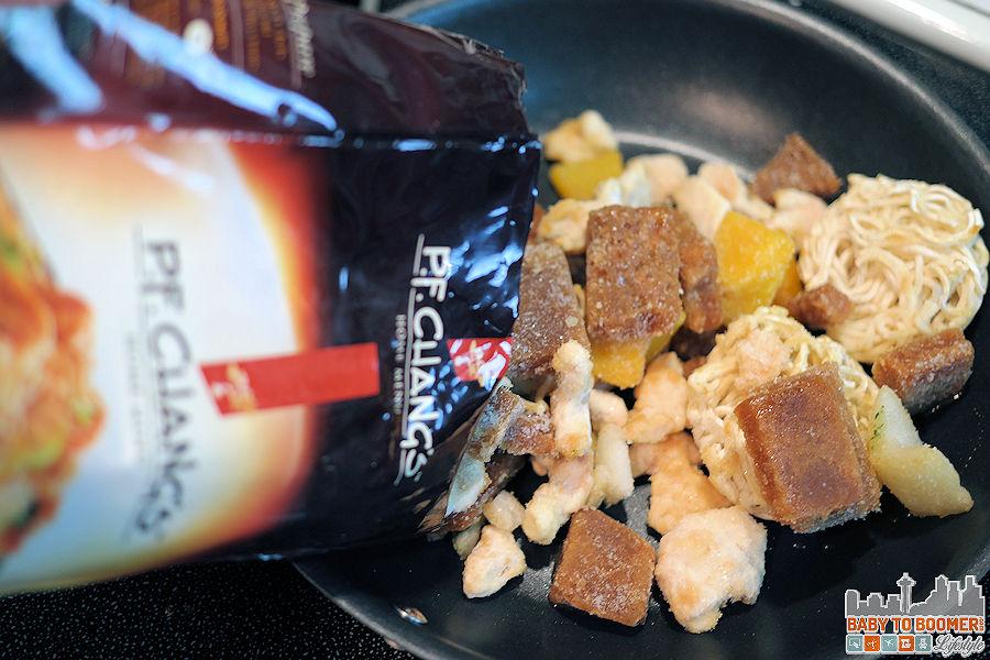PF Changs Home Menu - Garlic Chicken Dan Dan Noodles Frozen
