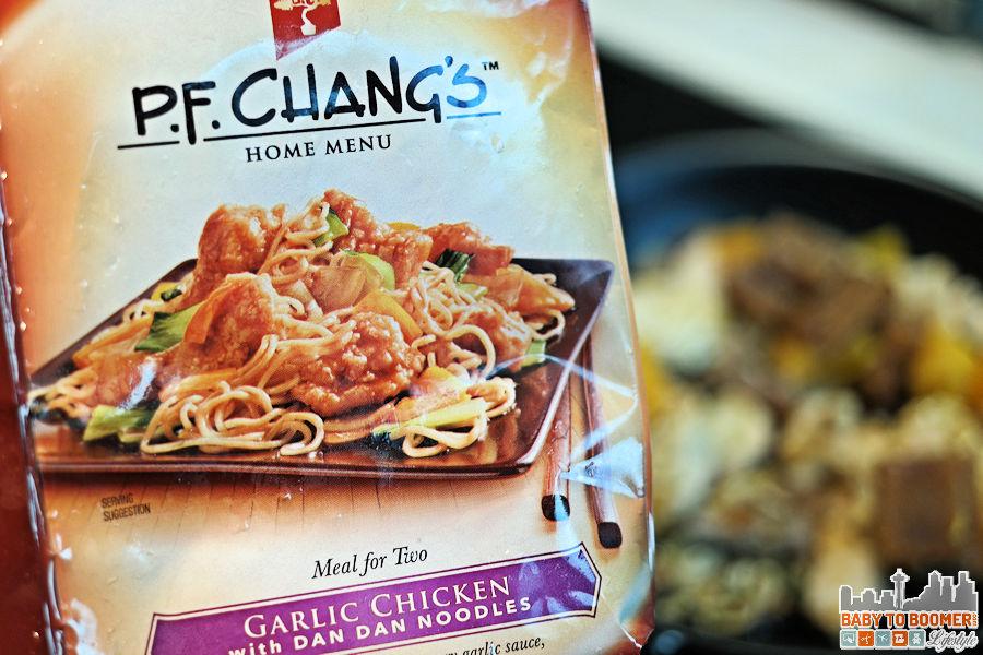 PF Changs Home Menu - Garlic Chicken Dan Dan Noodles