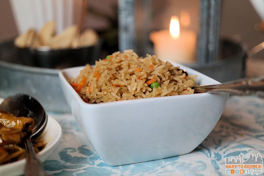 PF Changs Home Menu - Veggie Rice