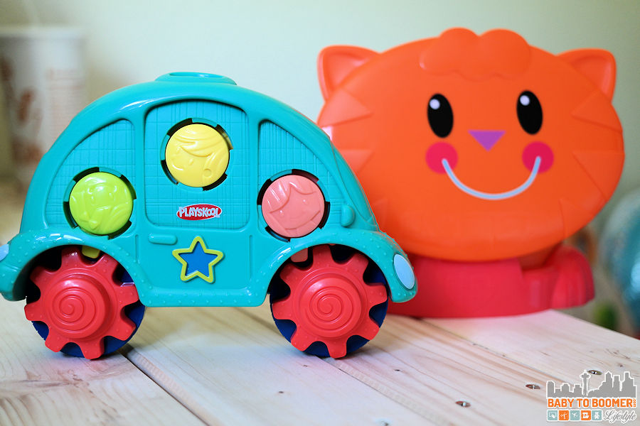 Cat Shape Sorter - PLAYSKOOL Play, Stow, Go Toys: Take The Fun On the Road #PlaySkoolOntheGo #ad