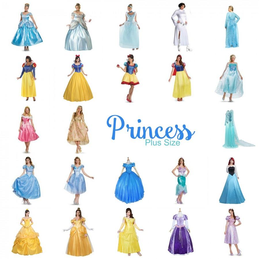 Halloween 2017 Disney Costumes Plus Size & Standard Women's Costume Characters - Women's Costume CharactersPlus Size Disney Princess Costume