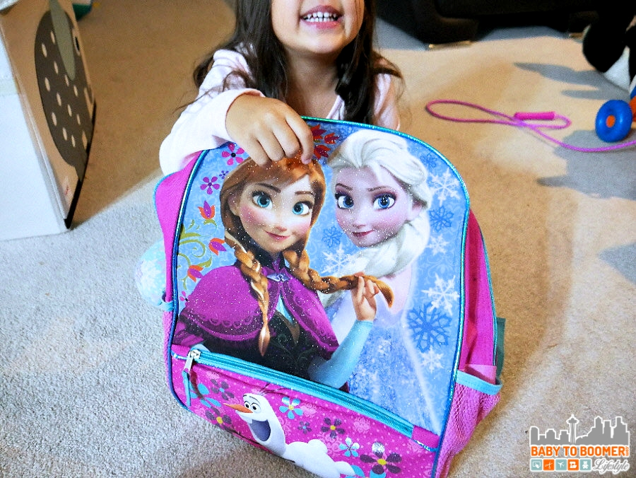 Preschool Backpack - Back to School Moments with the new Panasonic Lumix G7 #ad