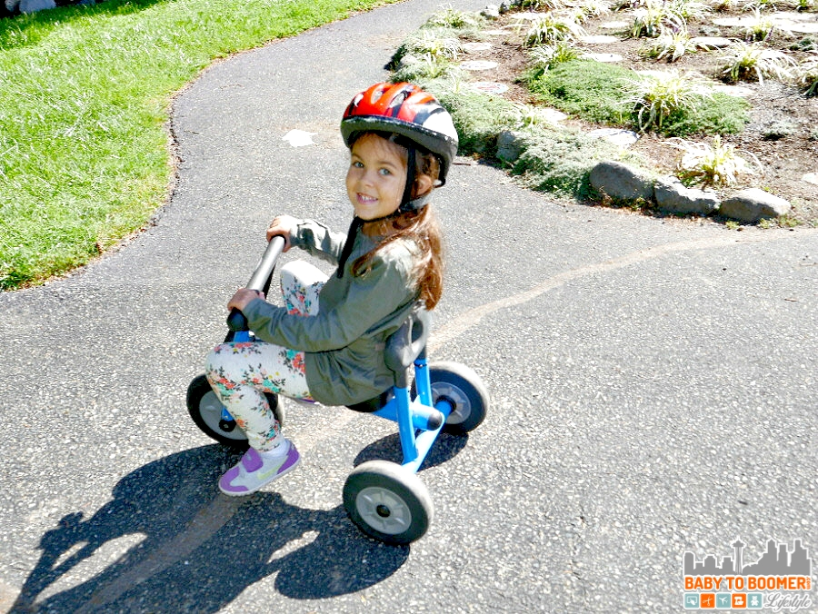 Trike - Back to School Moments with the new Panasonic Lumix G7 #ad