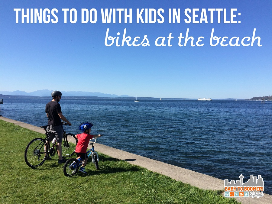 Things to Do With Kids In Seattle: Bikes at the Beach