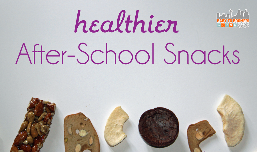Healthier snacks for after school