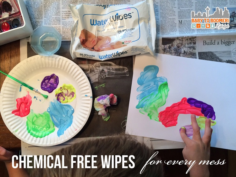 Water Wipes: Natural Baby Wipes For Moms On The Go - Chemical free baby wipes #waterwipes #ic #ad