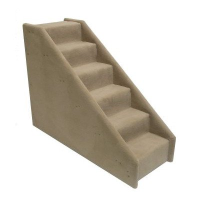 "6-step Dog Stairs for Pets - 5"" step x 5"" rise"