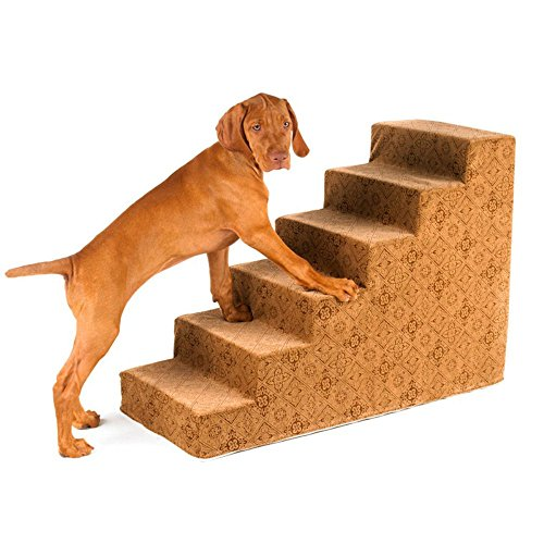 Bowsers 6-Step Designer Dog Stairs