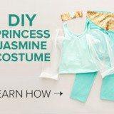 Aladdin: Jasmine Makeup Tutorial and DIY Costume & Blu-Ray Release