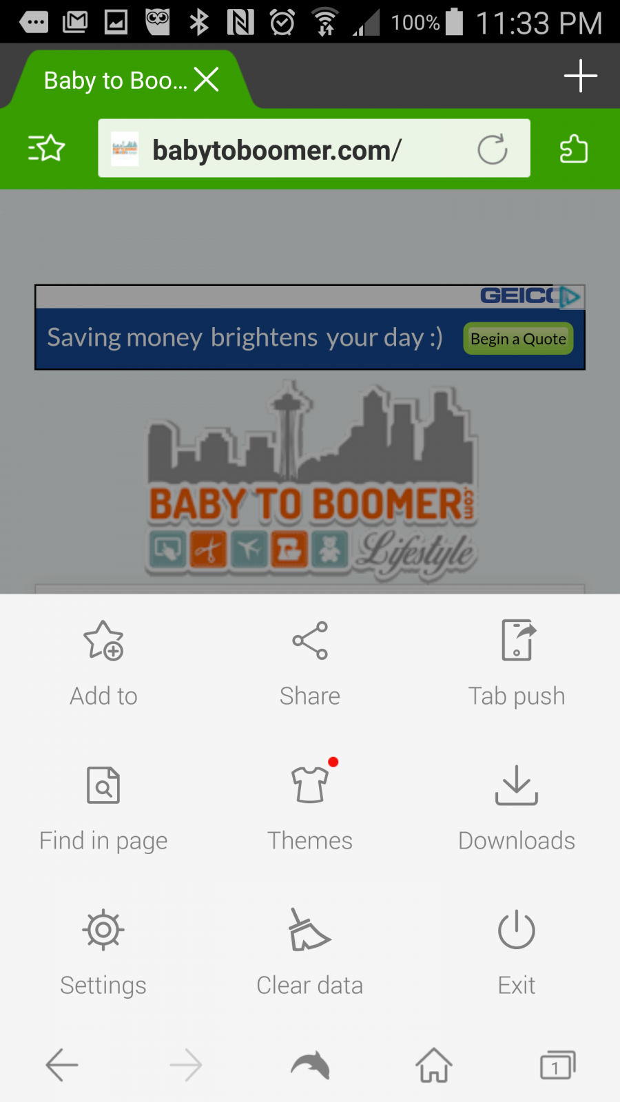 Dolphin Browser Shortcut