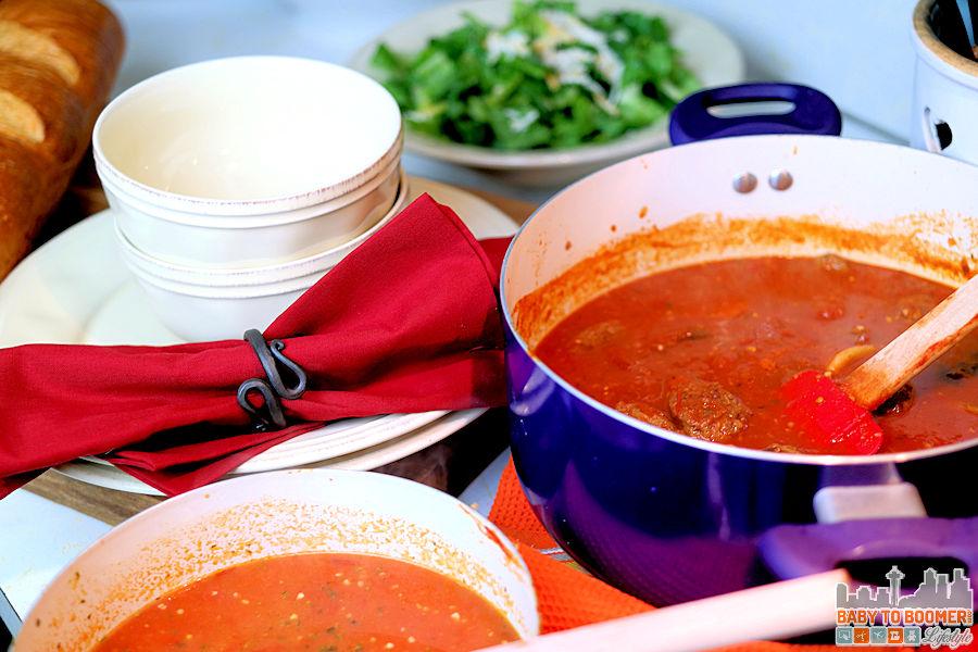 Cheese Ravioli Tomato Soup with Italian Sausage Recipe or Vegetarian - #FallMoments #CollectiveBias ad