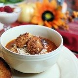 Fall Entertaining: Cheese Tortellini Soup Recipe – Sausage or Vegetarian