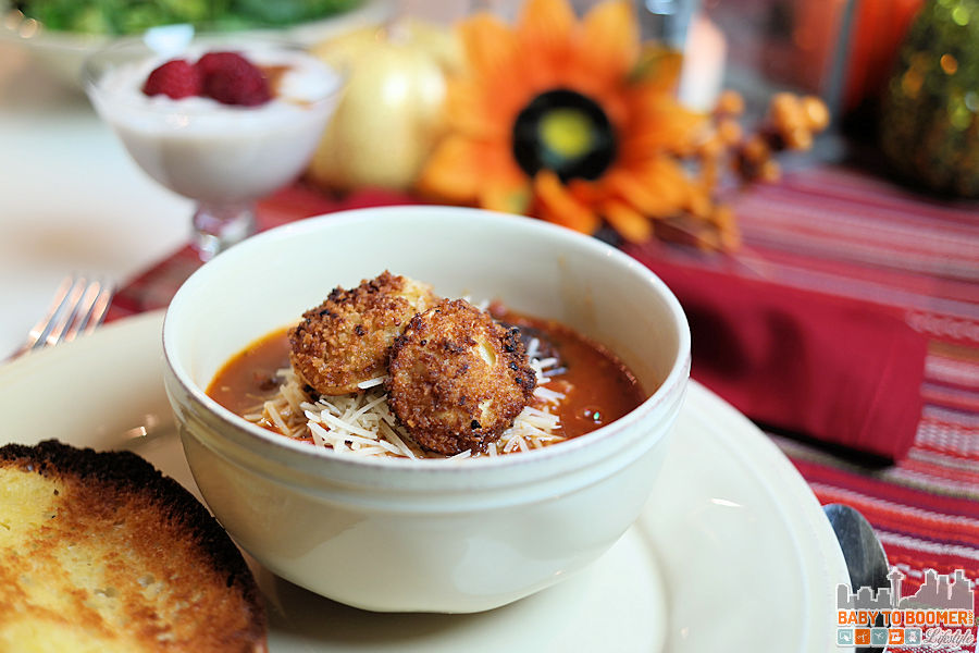 Fall Entertaining: Cheese Tortellini Soup Recipe – Sausage or Vegetarian
