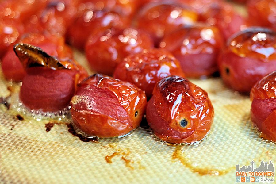 Roasted Grape Tomatoes - Cheese Ravioli Tomato Soup with Italian Sausage Recipe or Vegetarian - #FallMoments #CollectiveBias ad