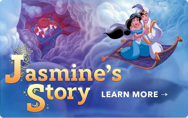Free Princess Jasmine Storybook Online Aladdin: Jasmine Makeup Tutorial and DIY Costume plus information on the new Diamond Edition Blu-ray combo and digital movie release October 2015