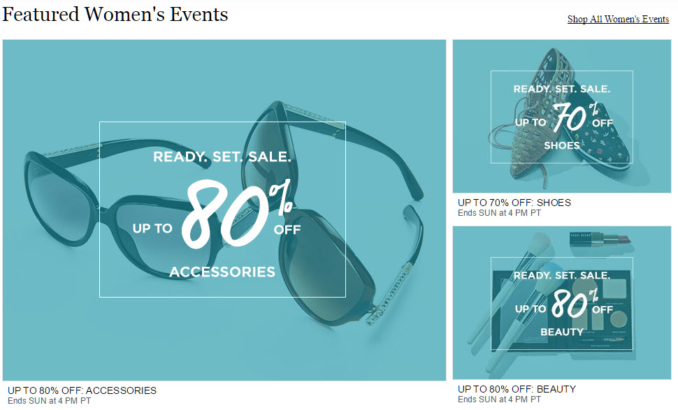 MYHABIT Featured Women's Sale Events - MyHabit vs Zulily - Which Offers the Best Deals?
