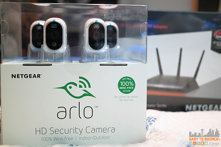 NETGEAR ARLO Home Security Camera - Mount Anywhere Wire-free Indoor/Outdoor Home Security Cameras #BBYConnectedHome @BestBuy @ArloSmartHome @Netgear ad