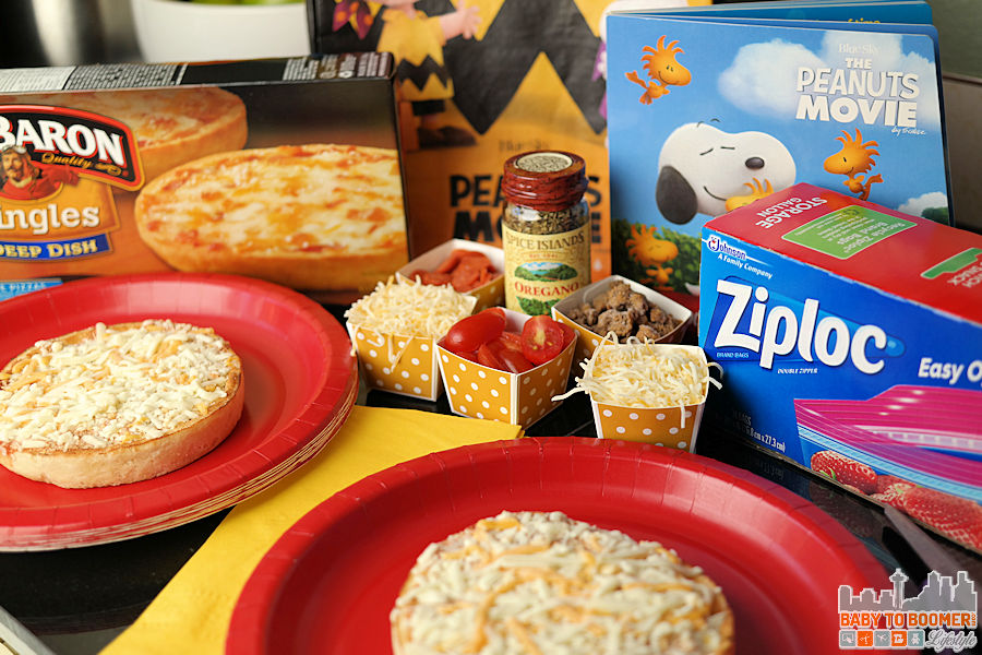 Peanuts Movie Red Baron Pizzas - Peanuts Movie-Inspired Treats and Exclusive Trick or Treat Bag #peanutsmovie @safeway ad