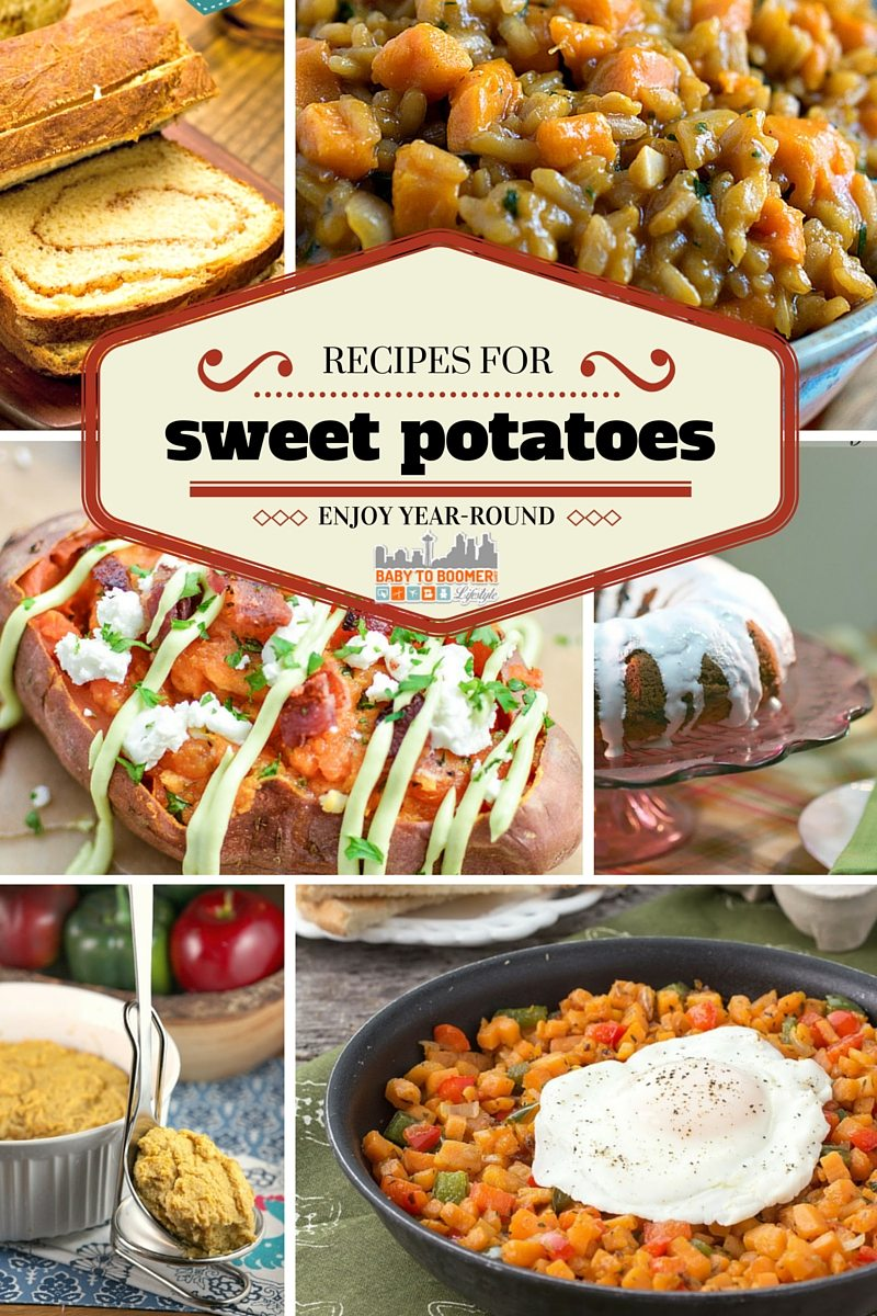 Recipes for Sweet Potatoes