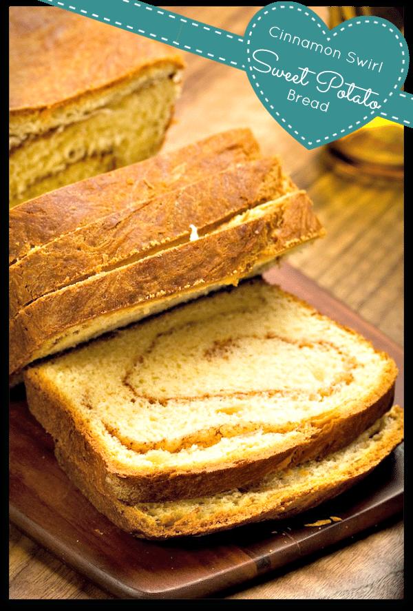 Recipes for Sweet Potatoes: Cinnamon Swirl Bread