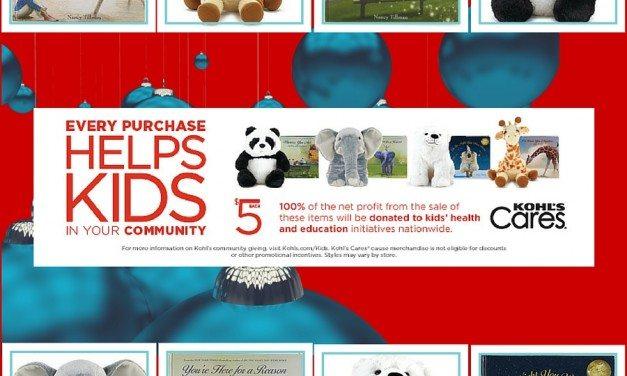 Kohl's Cares Holiday Campaign: Tillman Books and Blake Shelton Christmas CD