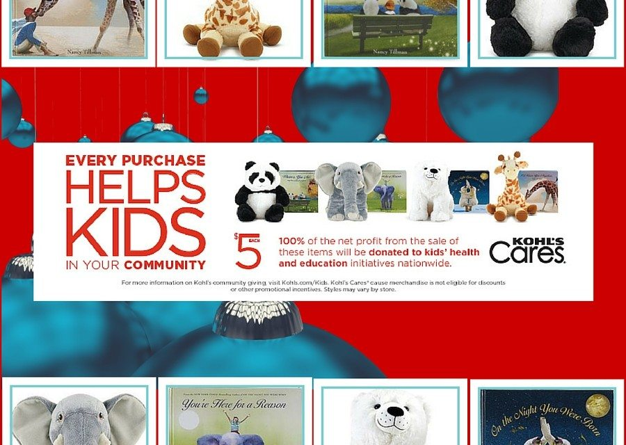 Kohl's Cares Holiday Campaign: Tillman Books and Blake Shelton Christmas CD