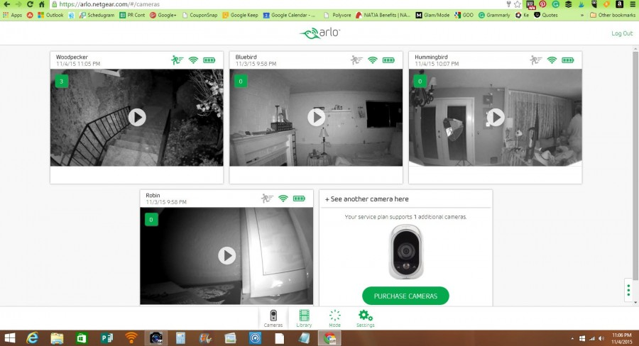Arlo Security Cameras Wire Free Indoor Outdoor System