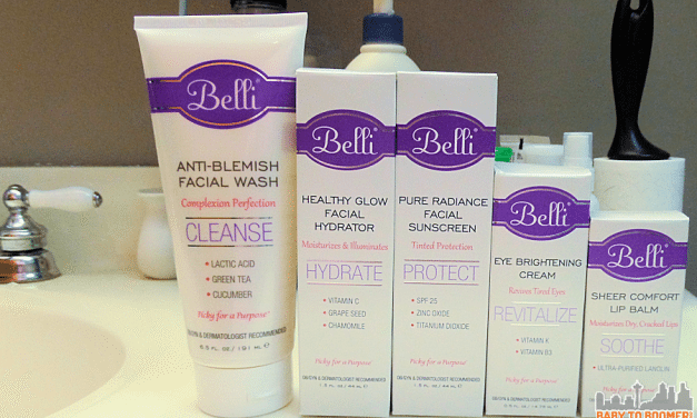 Pregnant? Skin Care Products Safe for Mom and Baby @BelliSkinCare