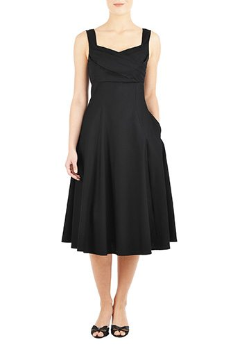 A Little Black Dress Customized for You - Change the sleeve, neckline or length