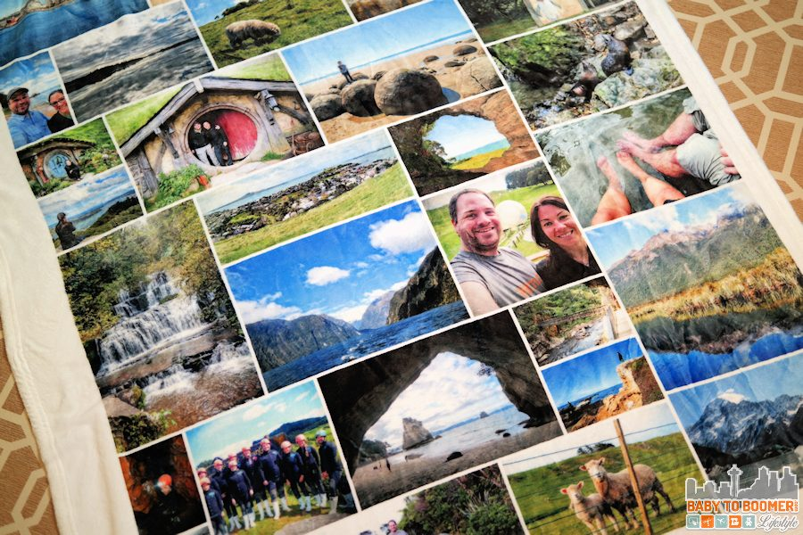 Collage.com Photo Blanket Gift Idea ad