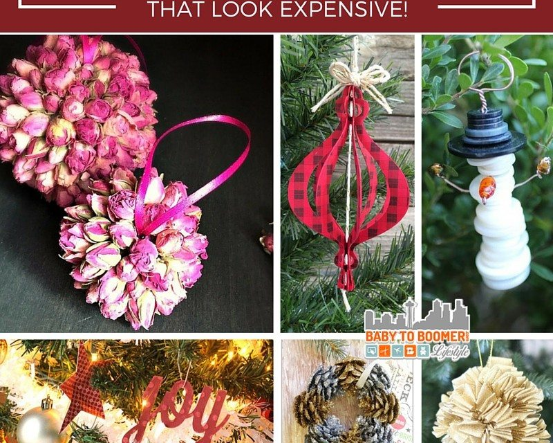 Expensive Christmas Ornaments.Diy Ornaments That Look Expensive But Aren T