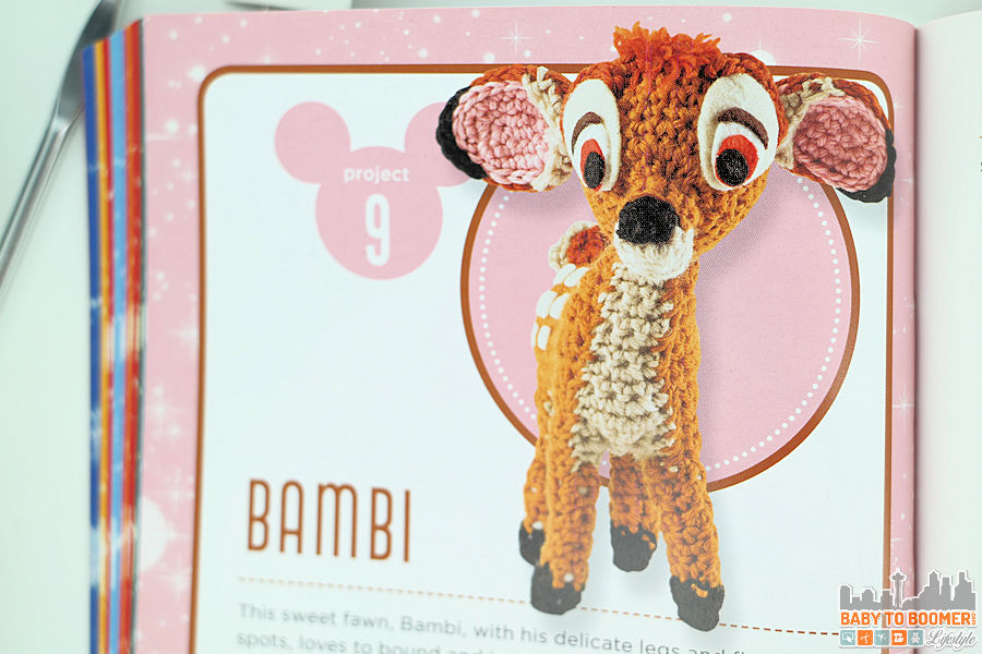 Project 9: Bambi Pattern - Classic Disney Crochet Patterns and Kit - 12 Characters! ad