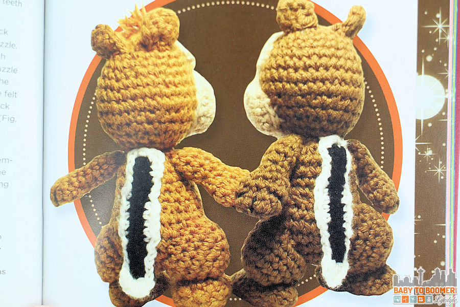Crochet Stitches Kit : Classic Disney Crochet Patterns and Kit - 12 Characters!