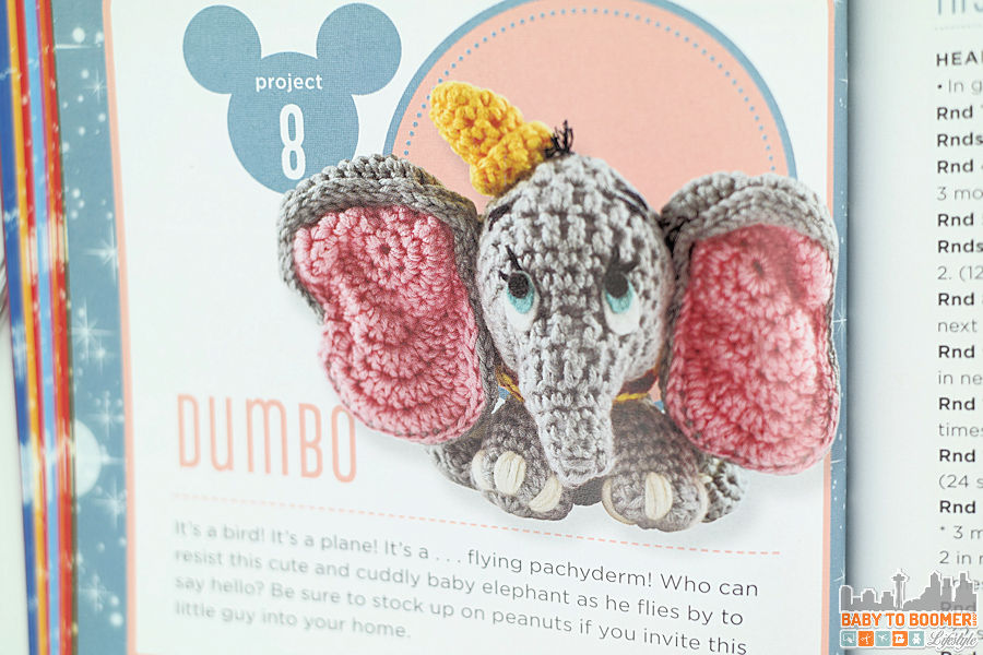 Project 8: Dumbo Pattern - Classic Disney Crochet Patterns and Kit - 12 Characters! ad