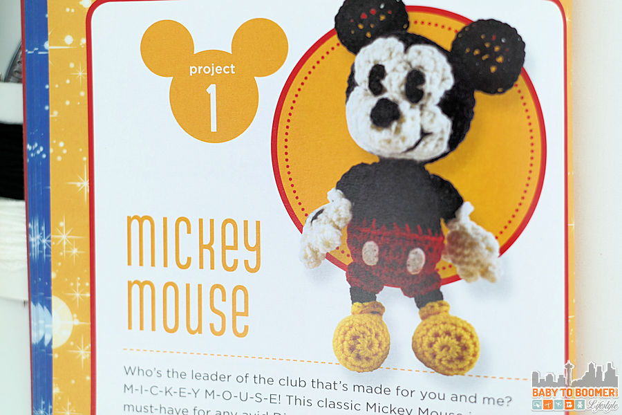 Project 1 - Mickey Mouse - Classic Disney Crochet Patterns and Kit - 12 Characters! ad
