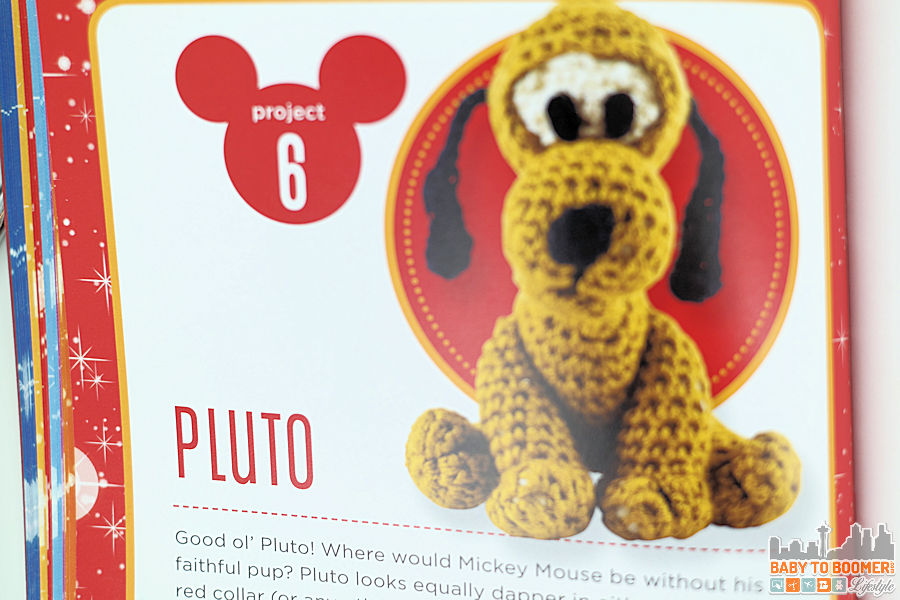 Project 6: Pluto Pattern - Classic Disney Crochet Patterns and Kit - 12 Characters! ad
