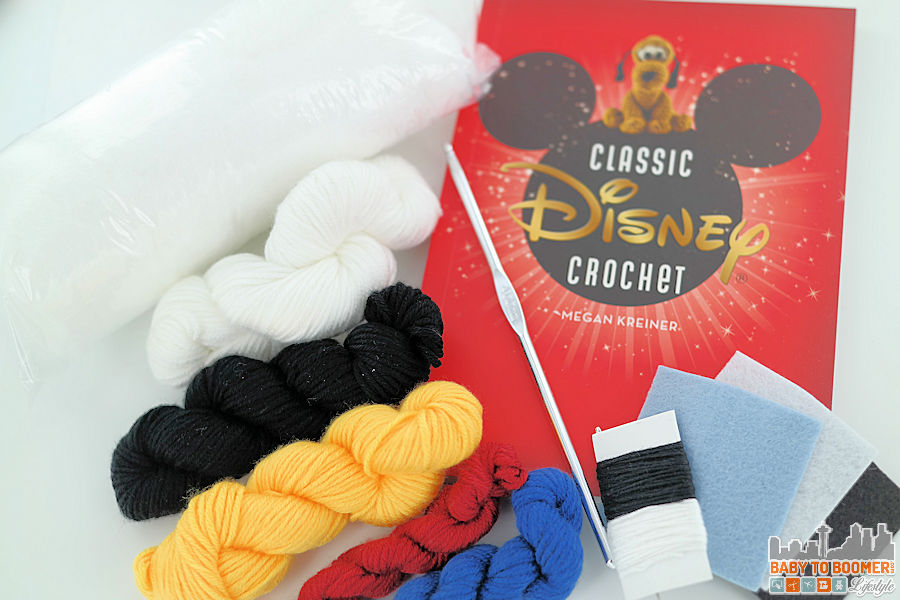 Disney Crochet Kit - Supplies Included Classic Disney Crochet Patterns and Kit - 12 Characters! ad