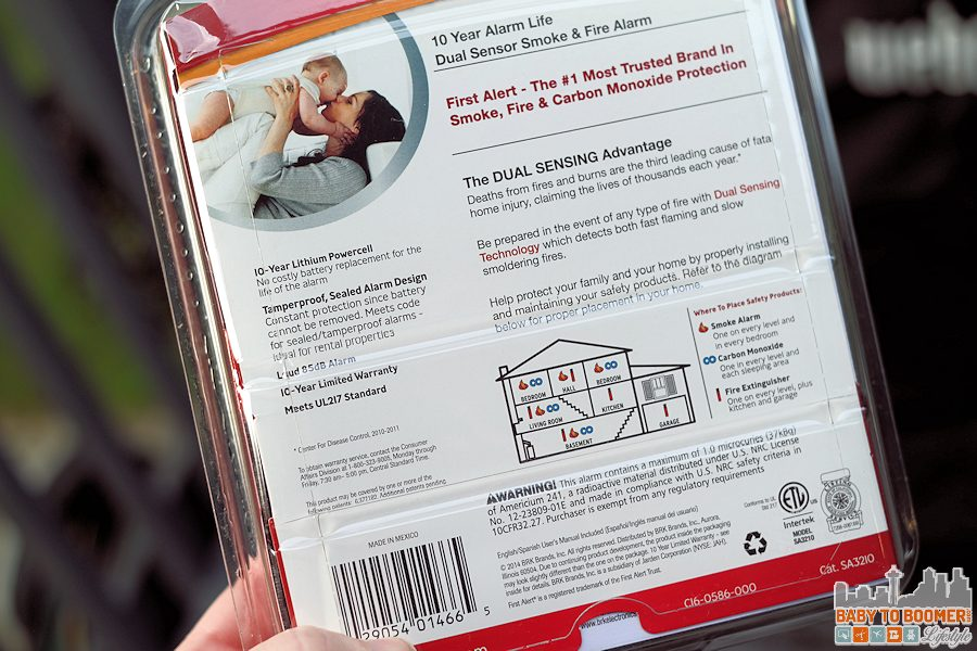 First Alert 10-Year Alarm: Give the Gift of Peace of Mind @FirstAlert ad