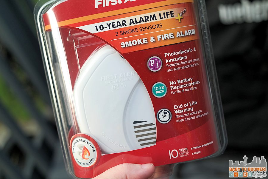 First Alert 10-Year Detector SA3210 - First Alert 10-Year Alarm: Give the Gift of Peace of Mind @FirstAlert ad