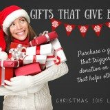 Holiday Gifts that Give Back – Purchase a Gift That Benefits Those in Need