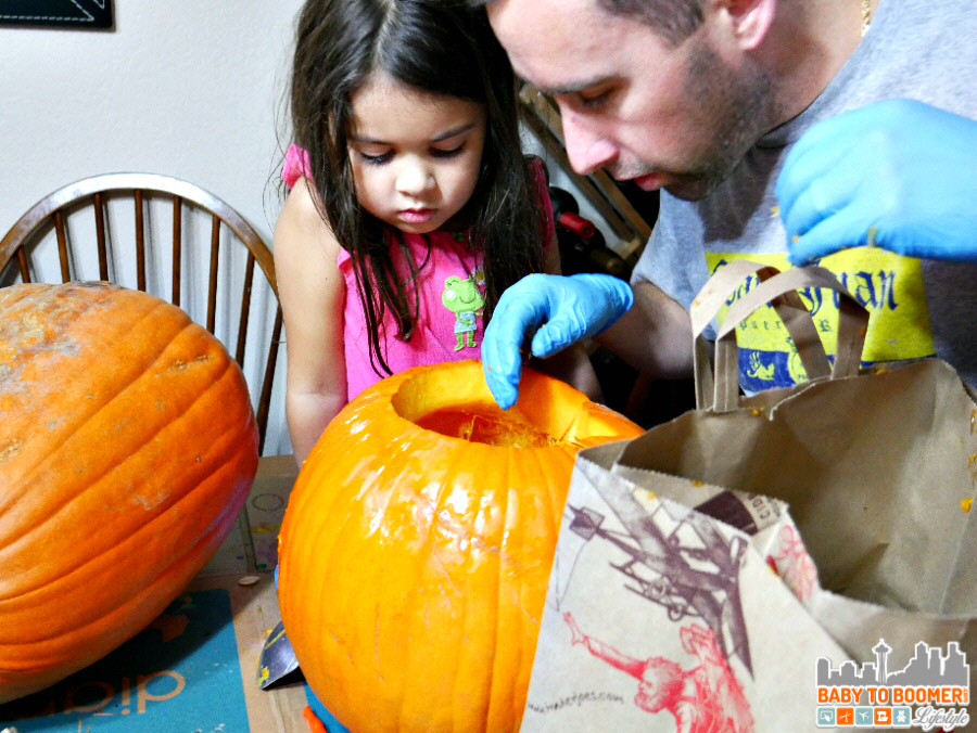 Halloween Pumpkin Carving - Panasonic Lumix G7: I'm Ready to Capture the Holidays! #4KPhoto #4KFun #IC #ad