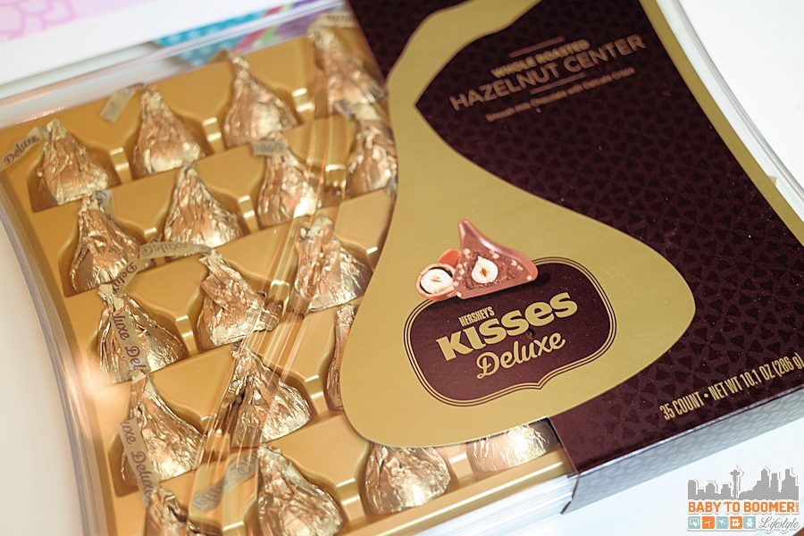 Hershey's KISSES Deluxe Chocolates Hazelnut - KISSES for Kicking Cancer's Butt: Free Printable & Giveaway #SayMore #IC ad
