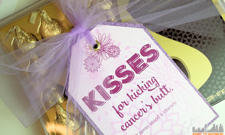 KISSES for Kicking Cancer's Butt: Free Printable & Giveaway