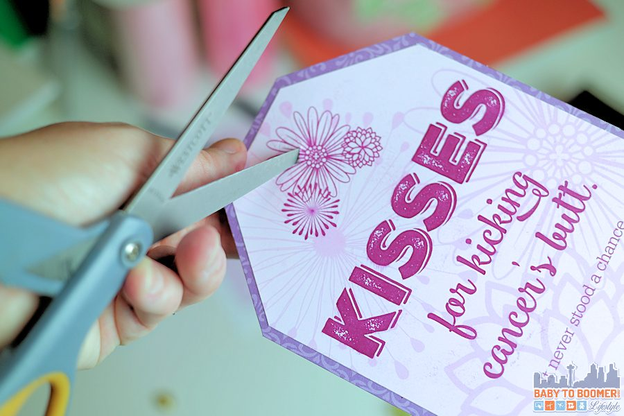 KISSES for Kicking Cancer's Butt: Free Printable & Giveaway #SayMore #IC ad